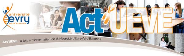 Act'UEVE - Université d'Evry - Val d'Essonne